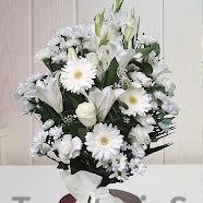 Ramos de flores para difuntos de Sevilla